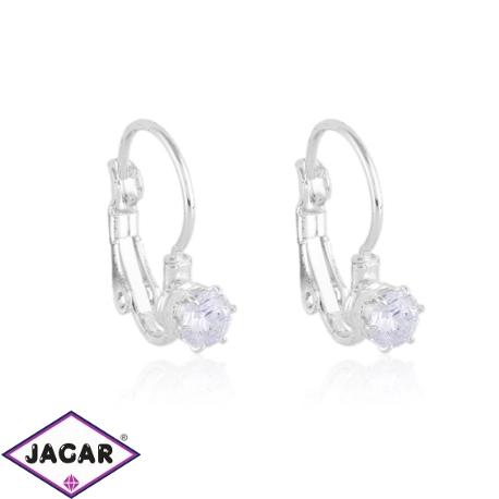 Kolczyki czeskie kryształy - EA1431