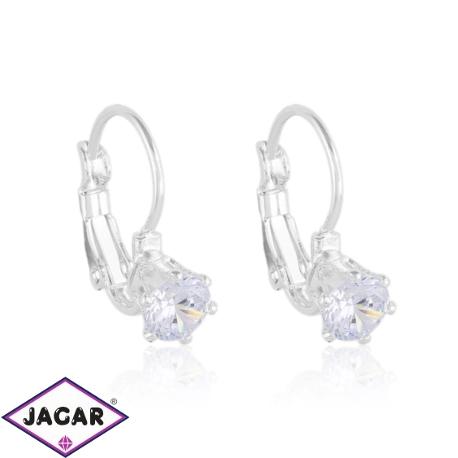 Kolczyki czeskie kryształy - EA1432