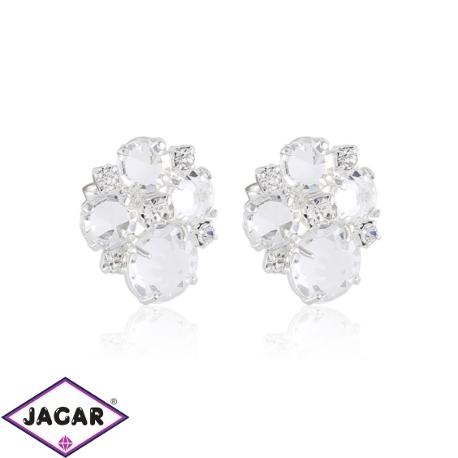 Kolczyki czeskie kryształy - EA1435