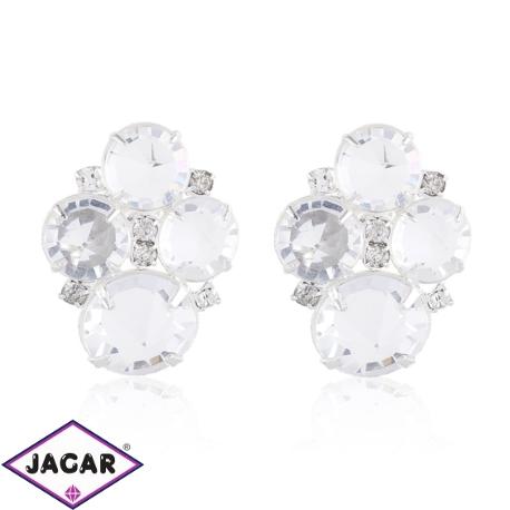 Kolczyki czeskie kryształy - EA1436