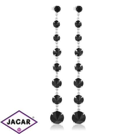 Kolczyki czeskie kryształy - EA1438