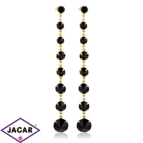 Kolczyki czeskie kryształy - EA1439