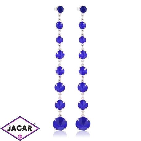 Kolczyki czeskie kryształy - EA1441