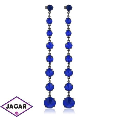 Kolczyki czeskie kryształy - EA1442