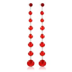 Kolczyki czeskie kryształy - EA1443