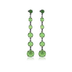 Kolczyki czeskie kryształy - EA1446