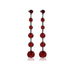 Kolczyki czeskie kryształy - EA1449