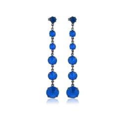 Kolczyki czeskie kryształy - EA1450