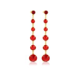 Kolczyki czeskie kryształy - EA1451