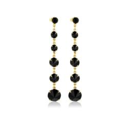 Kolczyki czeskie kryształy - EA1452