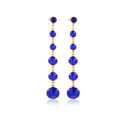 Kolczyki czeskie kryształy - EA1454