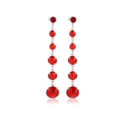Kolczyki czeskie kryształy - EA1455