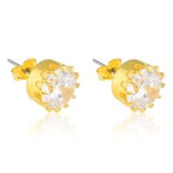 Kolczyki czeskie kryształy - EA1457