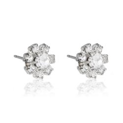 Kolczyki czeskie kryształy - EA1461