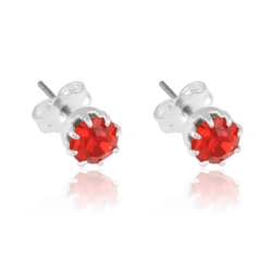 Kolczyki czeskie kryształy - EA1485