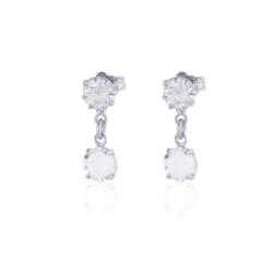 Kolczyki czeskie kryształy - EA1556