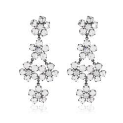 Kolczyki czeskie kryształy - EA1597