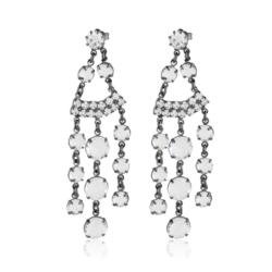 Kolczyki czeskie kryształy - EA1615