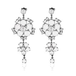 Kolczyki czeskie kryształy - EA1619