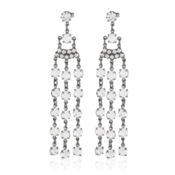 Kolczyki czeskie kryształy - EA1624