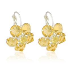 Kolczyki czeskie kryształy - EA1637