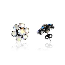Kolczyki czeskie kryształy - EA1681