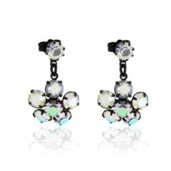 Kolczyki czeskie kryształy - EA1684