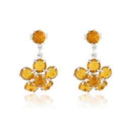 Kolczyki czeskie kryształy - EA1687