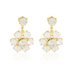 Kolczyki czeskie kryształy - EA1691
