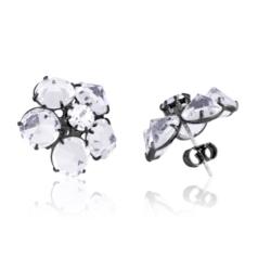 Kolczyki czeskie kryształy - EA1700