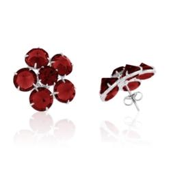 Kolczyki czeskie kryształy - EA1701