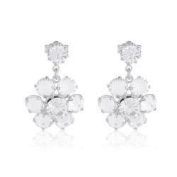 Kolczyki czeskie kryształy - EA1706
