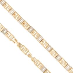 Bransoletka pozłacana - 19cm Xuping BP3620