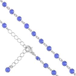 Bransoletka czeska z kryształami - BRA904
