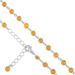 Bransoletka czeska z kryształami - BRA906