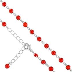 Bransoletka czeska z kryształami - BRA908