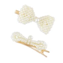 Spinki do włosów z perłami - 6szt OS325
