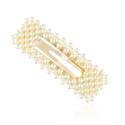 Spinki do włosów z perłami 8cm  - 6szt OS332  90
