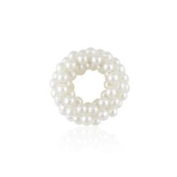 Perłowe gumki do włosów - 12szt - OG262 120