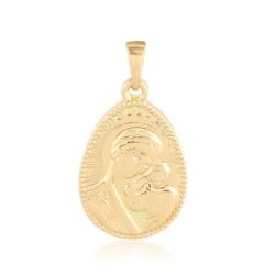 Medalik pozłacany - Xuping - 2,8cm - PRZ1827
