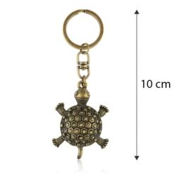 Brelok metalowy - żółw - BM181
