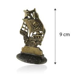 Figurka metalowa - Pamiątka z mazur - statek FR251