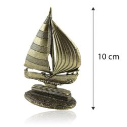 Figurka metalowa - Pamiątka z mazur żaglówka FR252