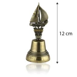 Figurka żaglówka - dzwonek - 10cm - FR257