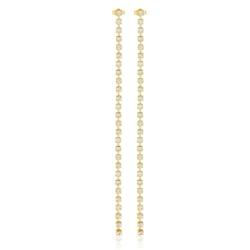 Klipsy czeskie kryształy 18cm - EA1973 53/234