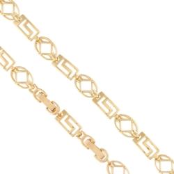 Bransoletka pozłacana - Xuping - 20cm - BP3753