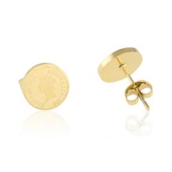 Kolczyki stal chirurgiczna- Xuping - 1cm - EAP8804