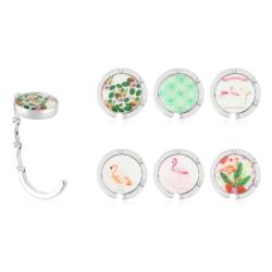 Wieszak na torebki - flamingi - mix wzorów - GAD10