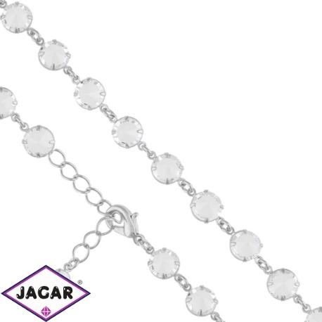 Bransoletka czeska z kryształami - BRA956