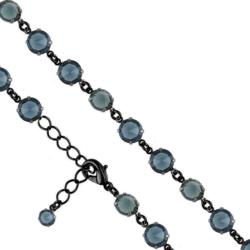 Bransoletka czeska z kryształami - BRA961